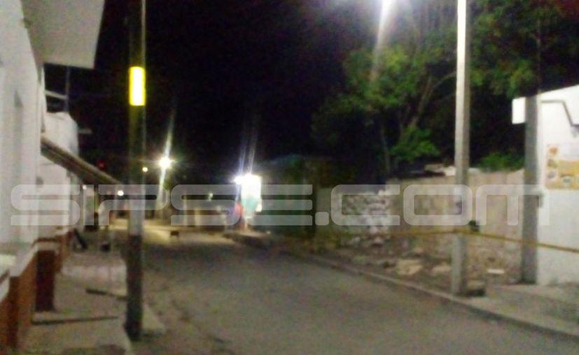 El trágico sucedio se dio en las calles de Kanasín. (Carlos Navarrete/SIPSE)