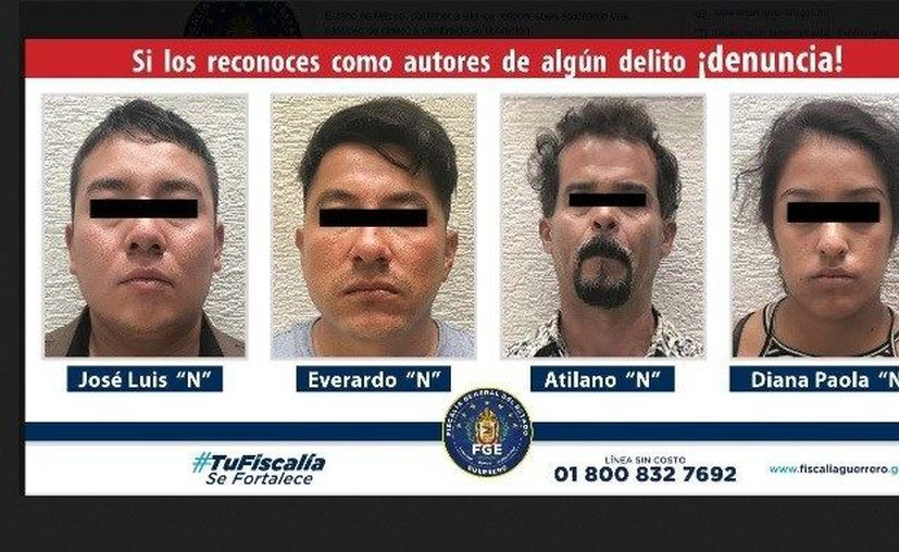 Tres elementos de la Guardia Nacional fueron detenidos por estar involucrados en el secuestro de un menor de edad.  (Twitter/@FGEGuerrero)