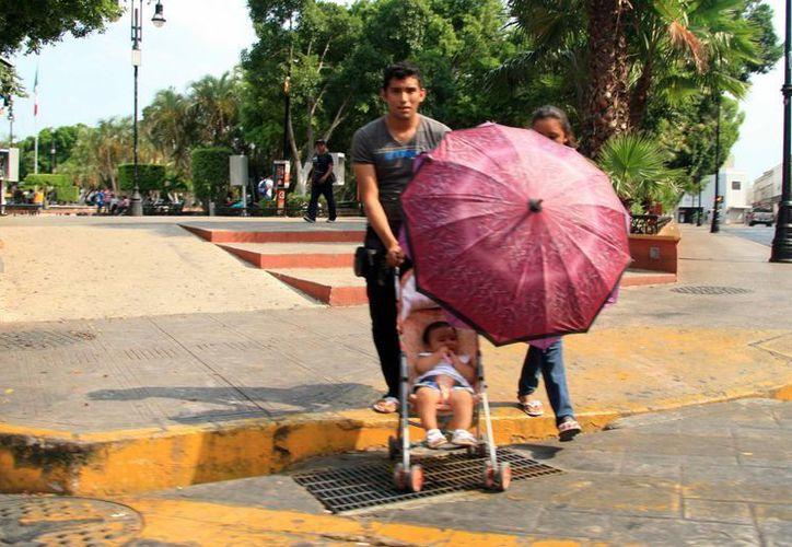 Ayer los termómetros márcaron 39.8 grados centígrados en Yucatán. (José Acosta/SIPSE)