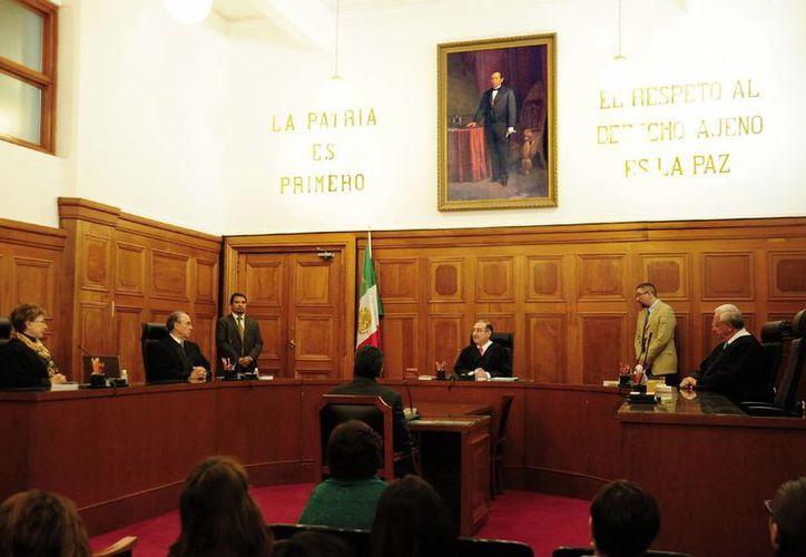 Tras recibir el proyecto en la Secretaría General, la Suprema Corte discutirá antes que ningún otro tema el de la controversia constitucional del Senado contra Ifetel. (Foto de contexto de Notimex)