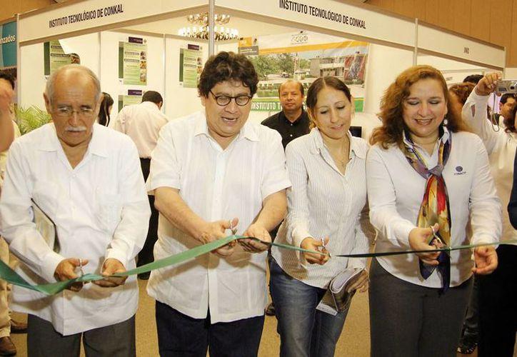 Inauguración de la Feria del Posgrado. (Cortesía)