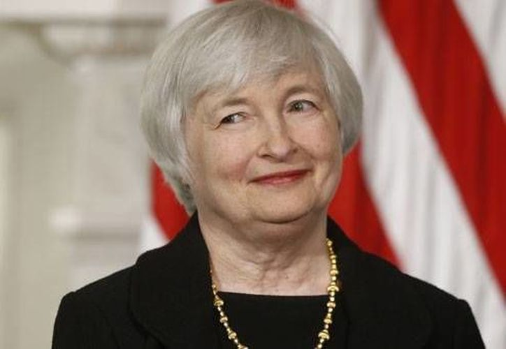 Janet Yellen tomará el mando de la Fed en febrero próximo por cuatro años. (Agencias)