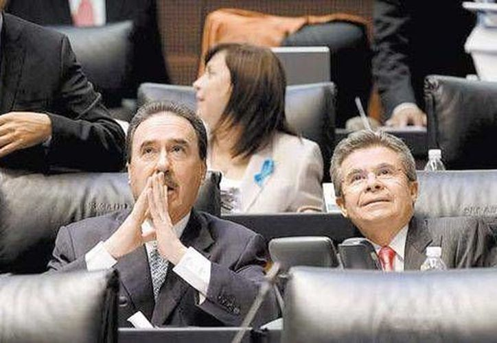Emilio Gamboa, coordinador del PRI en el Senado (Especial)