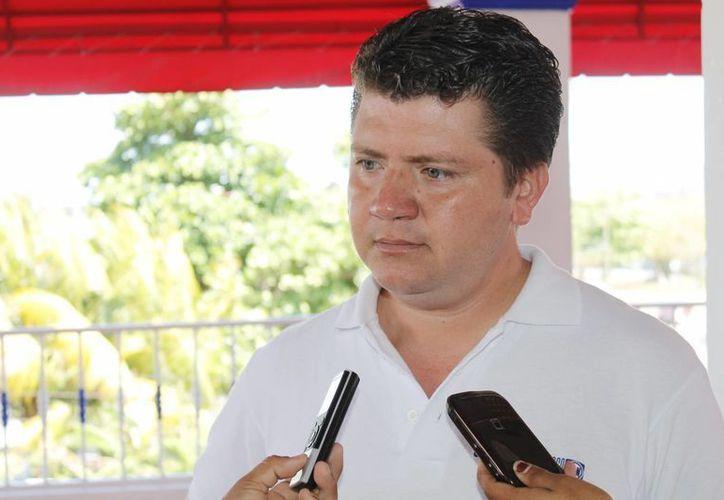 Tinoco Guzmán dijo que es un militante activo y ejerce su derecho. (Jesús Tijerina/SIPSE)