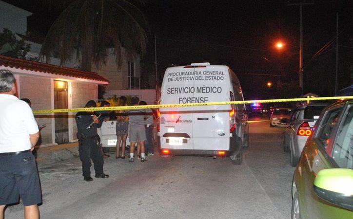 El cuerpo fue trasladado al Servicio Médico Forense. (Redacción)