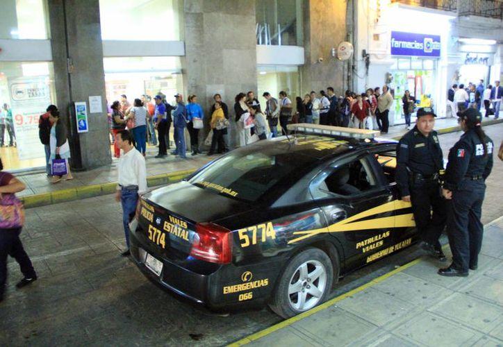 Aumenta la presencia de agentes policiacos en el Estado por temporada decembrina. (Milenio Novedades)