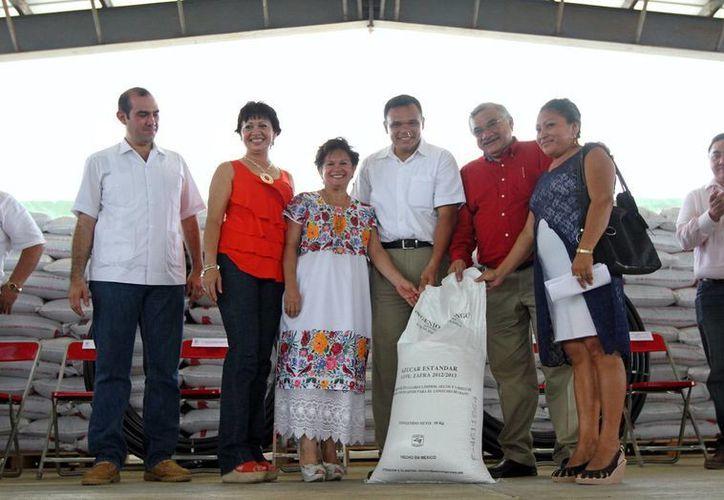 Rolando Zapata afirmó que el campo es columna del crecimiento ecónomico. (Milenio Novedades)