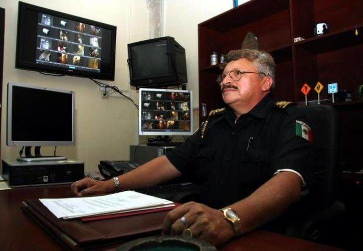 Federico Cuesy Adrián, quien en ese entonces era director de la Policía de Hunucmá, participó en la búsqueda. (Jorge Moreno/SIPSE)