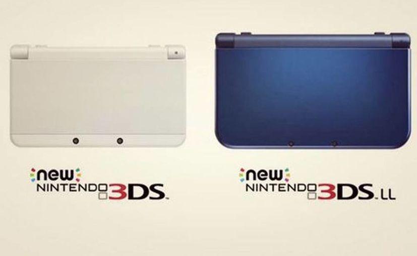 Nintendo presentó sus consolas de bolsillo New 3DS en dos tamaños. (Milenio Novedades)