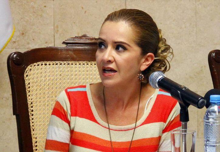 Claudia Canto Mézquita, tesorera del Ayuntamiento. (Milenio Novedades)