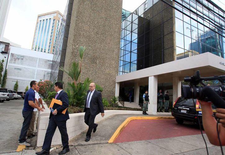Vista general de la entrada a la sede central de la firma Mossack Fonseca en Ciudad de Panamá. (Archivo/EFE)