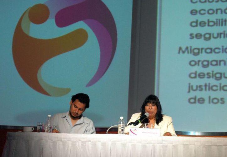 Ayer se inauguró en Cancún un encuentro nacional para prevenir la trata de personas. (Tomás Álvarez/SIPSE)