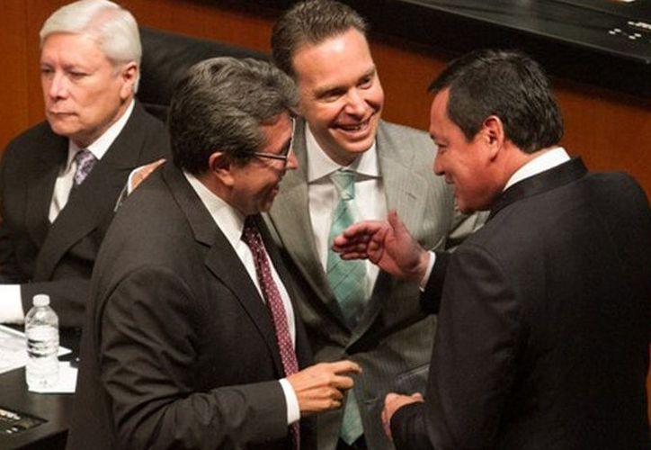 Seis fracciones parlamentarias del Senado de la República apoyaron a Velasco Coello. (Internet)