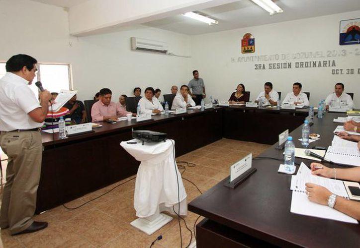 El Cabildo realiza la Tercera Sesión Ordinaria (Cortesía/SIPSE)