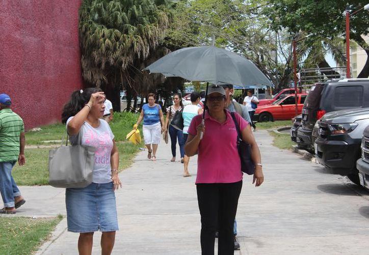 Este jueves se presentarán temperaturas máximas de entre 35 y 39 grados Celsius en Yucatán. (Archivo/Sipse)