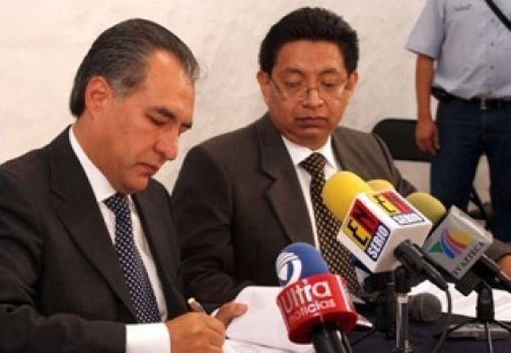 Marco Antonio Adame será uno de los representantes del PAN ante el Consejo Rector del Pacto por México. (Notimex)