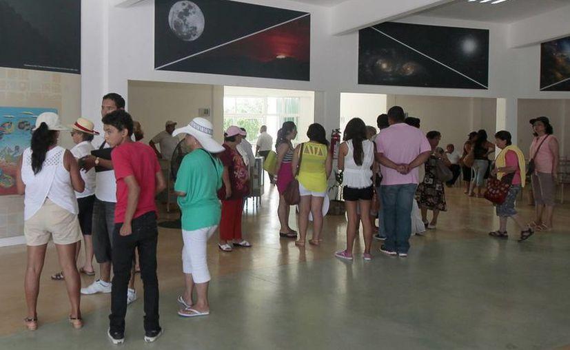 El planetario realiza eventos externos e internos para el público en general. (Redacción/SIPSE)