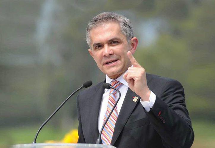Miguel Ángel Mancera, jefe de gobierno de la Ciudad de México,  ha impulsado el tema de la regulación de armas desde el inicio de su administración. (posta.com.mx)