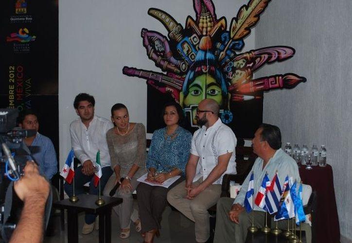 Las autoridades presentaron el evento que tendrá 11 sedes que estarán distribuidas en los 10 municipios de la entidad. (Tomás Álvarez/SIPSE)