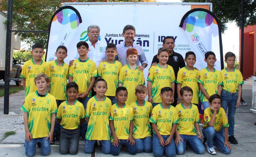 La Selección que competirá en Cancún.