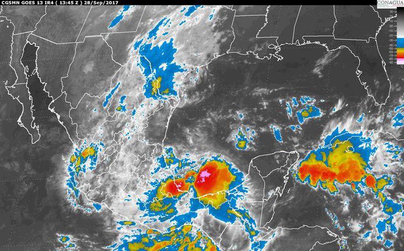 Prevén fuertes lluvias en gran parte del país