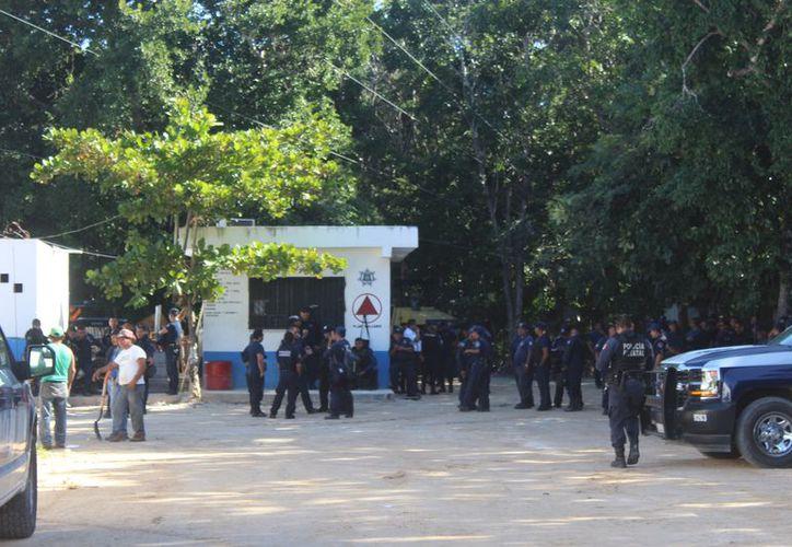Juan Antonio Uscanga Cano quedó al frente de la corporación policíaca en Tulum. (Foto: Sara Cauich/SIPSE)