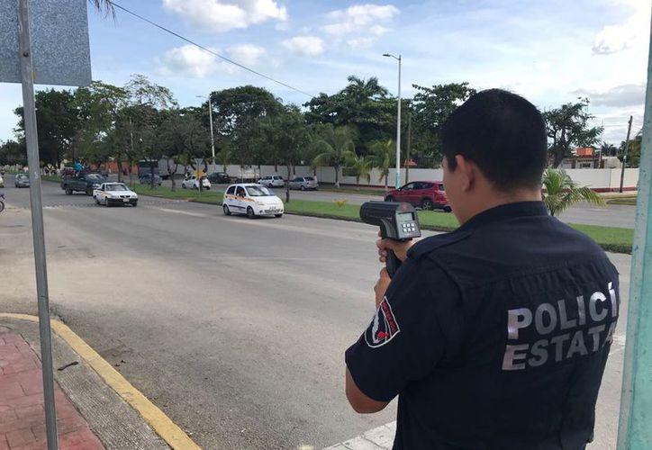 La velocidad máxima en la ciudad será de 40 kilómetros por hora y de 30 kilómetros por hora en zona escolar. (Joel Zamora/SIPSE)