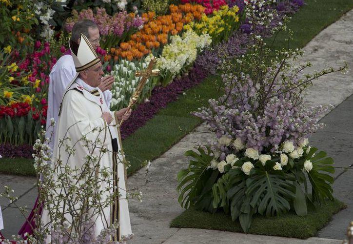 El Papa pide el fin de la violencia del narcotráfico. (Agencias)