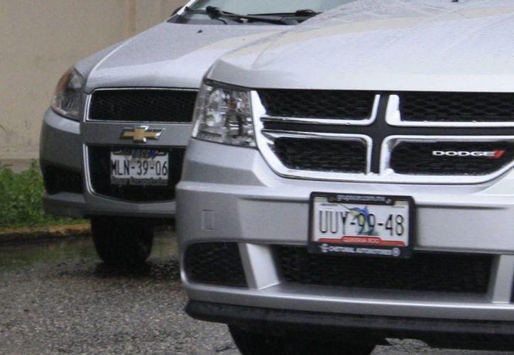 El padrón vehicular en todo el estado es de 350 mil vehículos. (Harold Alcocer/SIPSE)
