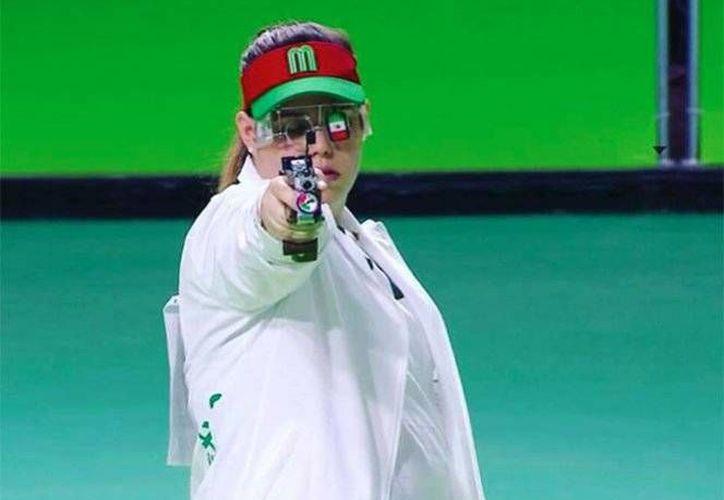 Alejandra Zavala culminó en la cuarta posición en los pasados Juegos Olímpicos de Río de Janeiro 2016.(Foto tomada de Twitter/@COM_Mexico)