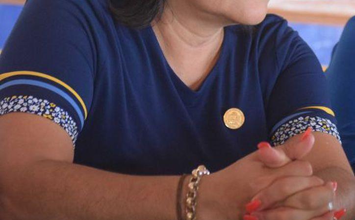 Gabriela Angulo confirmó el aislamiento del gobierno municipal de Cozumel y su mala relación con la administración estatal. (Gustavo Villegas/SIPSE)