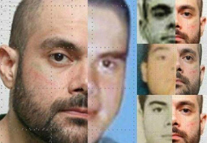 Pruebas periciales que realizó la PGR para confirmar la identidad de Fernando Sánchez Arellano, alias'El Ingeniero' (Foto Especial/Milenio)