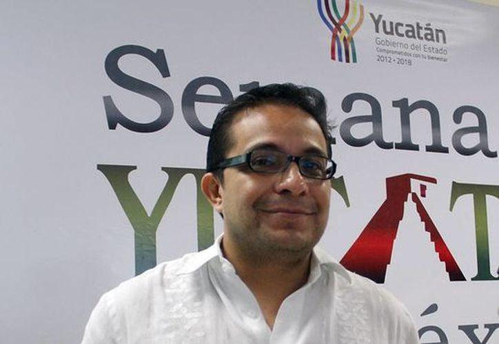 Saúl Ancona visitó Mérida, en representación de la secretaria de Turismo, Claudia Ruiz. (Juan Albornoz/SIPSE)