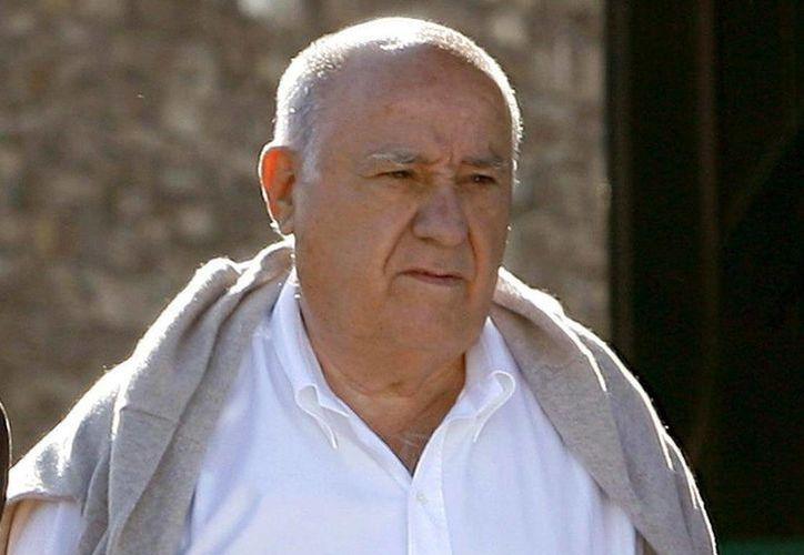 Amancio Ortega figuró en la cima de la lista de los hombres más ricos del planeta debido a una variación en el valor de las acciones de Inditex, grupo del cual es dueño. (EFE)