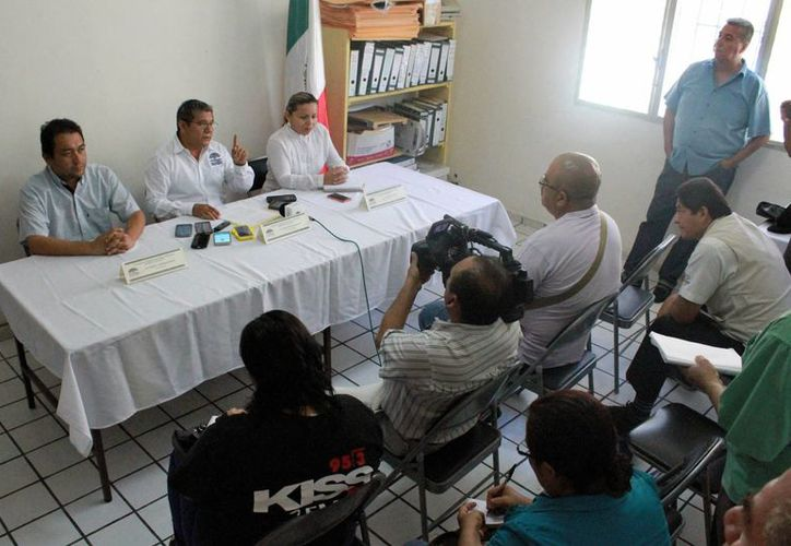 Los trabajadores sindicalizados del Cobach en Q. Roo anunciaron un paro para pedir que se paguen los aportes correspondientes al SAR. (Carlos Horta/SIPSE)