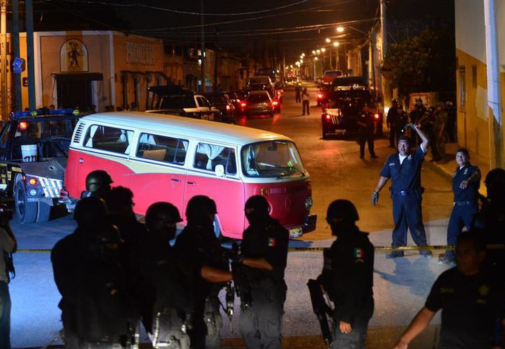 La Seido y el Ejército, coordinados con los cuerpos de seguridad del Estado y de Mérida, aseguraron el jueves pasado, 42 vehículos. (Milenio Novedades)