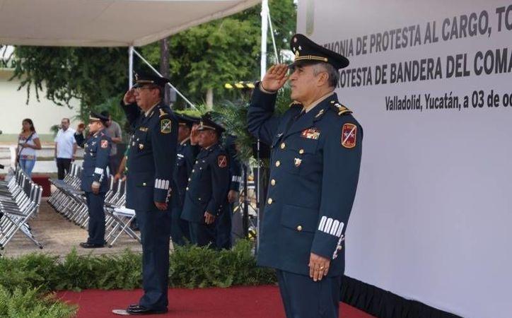 Miguel Hurtado Ochoa fue nombrado este lunes como nuevo Comandante de la 32/a. Zona Militar. (Fotos: cortesía)