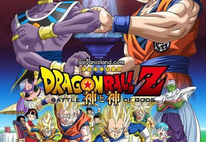 Cartel promocional de 'Dragon Ball Z: Batalla de dioses'. (Internet)