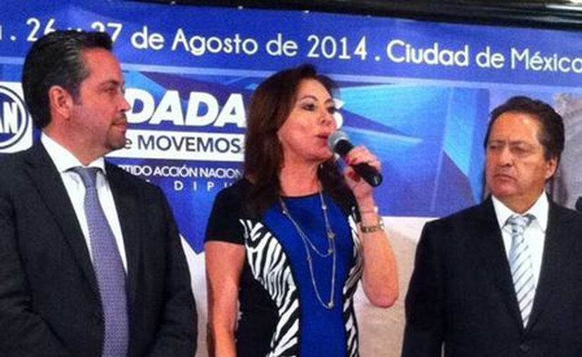 La diputada Beatriz Zavala Peniche considera que es indispensable el aumento al salario mínimo. (SIPSE)