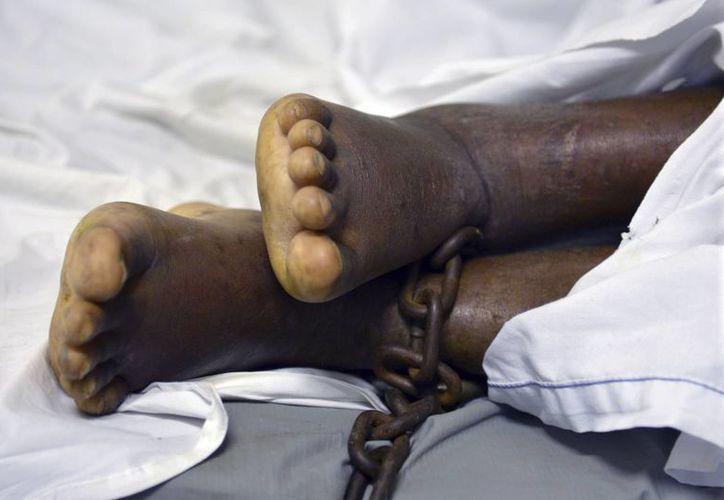 Los miles de empleados de hospitales públicos en Haití se han levantado en huelga. (AP)