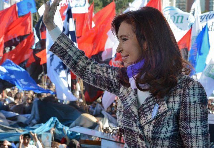 En enero de 2015, el gobierno de Cristina Fernández oficializaría un plan de pagos, con bonos a largo plazo. (EFE)