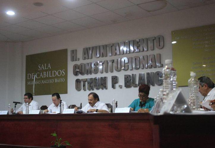La iniciativa de arrendamiento de bienes e inmuebles fue aprobada por unanimidad el Cabildo. (Harold Alcocer/SIPSE)