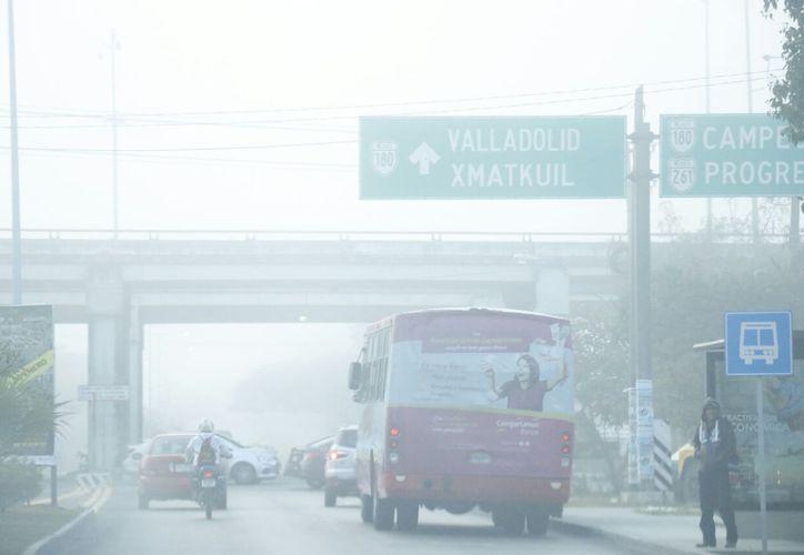 Este miércoles Mérida registró el día más gélido de la temporada. (Foto: José Acosta)