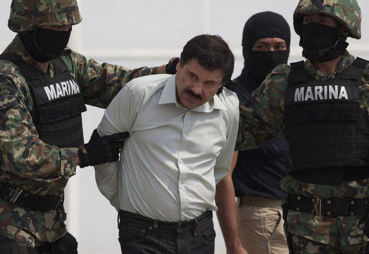 A <i>El Chapo</i> le presentaron este lunes cargos criminales en México y este martes le fue dictada la formal prisión. (Agencias)
