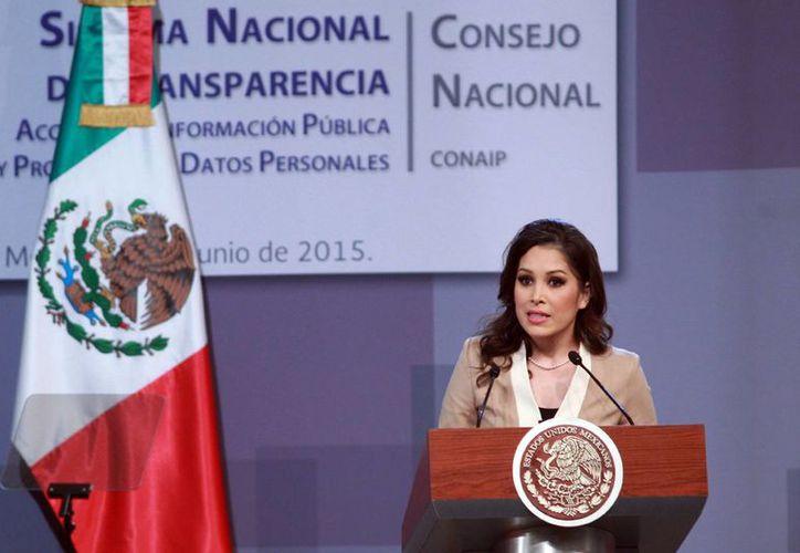 Ximena Puente de la Mora, presidenta del Instituto Nacional de Transparencia, Acceso a la Información y Protección de Datos Personales, dijo que en el SNT se privilegia el diálogo y los consensos para construir una estructura fuerte. (Achivo/Notimex)