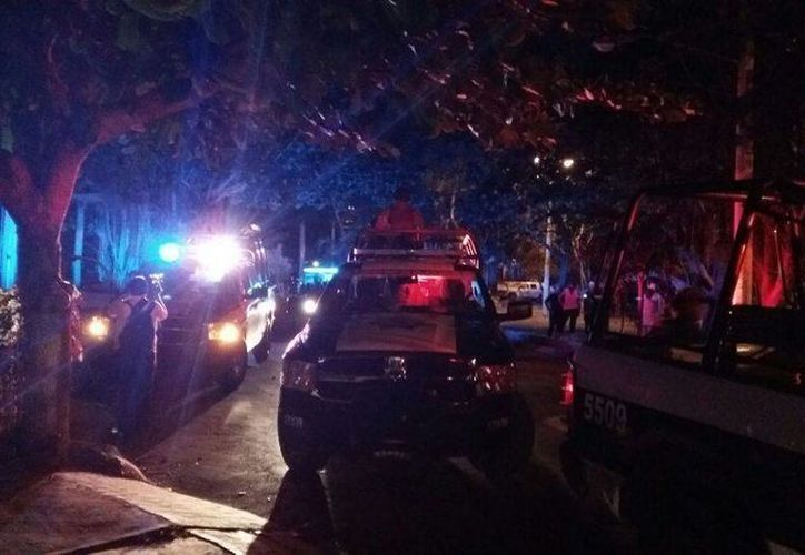 Reportan persona muerta por arma de fuego en la Supermanzana 45 de Cancún. (Redacción/SIPSE)