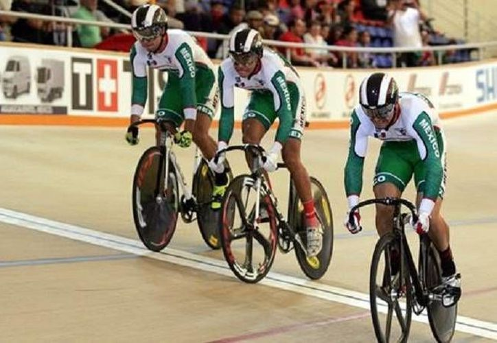 México es uno de los 24 países que compite en la primera fase del Mundial de Ciclismo. (Foto de Conade)