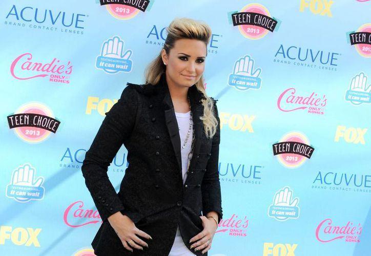 """Lovato participa por segundo año consecutivo como mentora en """"The X Factor"""", junto con Paulina Rubio. (Agencias)."""