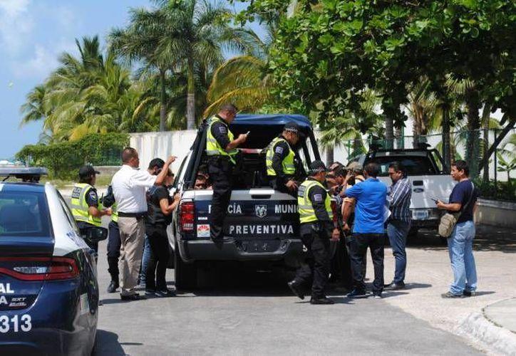 La ejecución se registró el martes pasado, en el kilómetro 5.5 de la zona hotelera. (Redacción/SIPSE)