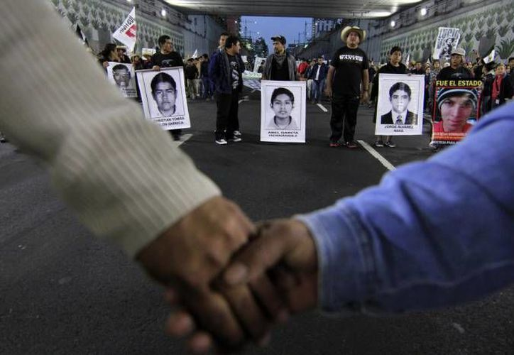Los expertos también solicitaron a la PGR una copia digital del expediente que tienen sobre la desaparición de los 43 normalistas. (Archivo/Notimex)